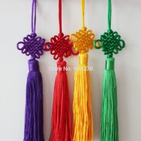 Wholesale Mix Colors Feng Shui Chinese Knot Hanging Tassel Good Fortune Luck Wealth Prosperity CM