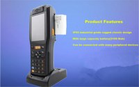 Wholesale 1D Barcode laser Scanner Speedata android os PDA for Express Warehouse Mangement Logistics with thermal printer