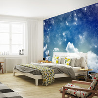 beautiful hallways - Beautiful Starry sky Wallpaper Galaxy Photo Wallpaper Custom Wall Mural Designer Wall Print Decal Home decor Bedroom Hallway Modern Art