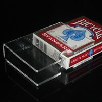 acrylic clip board - The acrylic transparent board clamp magic props card clip
