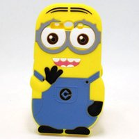 Wholesale For Alcatel One Touch Pop C5 C7 C9 Case Despicable Me Minions Silicone Cell Phone Cases Cover For Alcatel C9 D