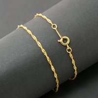 red plates - 50pcs Jewelry Findings Chain Necklace cm Length Copper Material Plated Gold Silver Chains Fit Charm Pendants DIY Carft DH FLA002