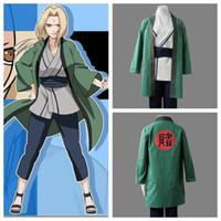 Wholesale NARUTO anime cosplay Tsunade costume halloween costumens