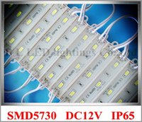 Wholesale X Epoxy waterproof LED module light back lighting for sign SMD5730 W lm IP66 mm mm CE ROHS