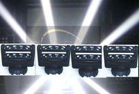 beam sound - 4PCS CREE WHITE x10 Watt led spider moving head beam light DJ party disco ktv