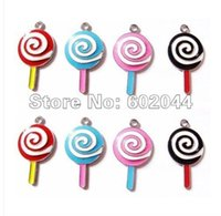 assorted lollipops - Lollipop Assorted Metal Charms DIY Jewellery