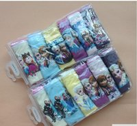 girls wear underwear - 2015 Fashion Baby girls Frozen Underwear boys Cotton cartoon Briefs Kids Frozen Panties Girls boys Inner wears for ages