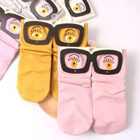 babies website - 2015 socks for man women baby New autumn and winter official website synchronization lovely glasses modal cotton socks socks