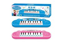 baby songs free - Musical Instruments Toy for Kids Frozen Cartoon Electronic Toy Keyboard Electronic Baby Piano With Music Song Educational toy free DHL