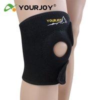 Wholesale Professional sports kneepad breathable basketball strengthen flanchard ride kneepad