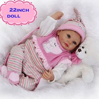 best looking models - NPK cm New Arrival Silicone Reborn Baby Dolls For Sale Real Looking Newborn Baby Alive Bonecas For Best Gift Brinquedos