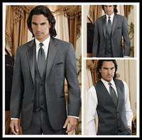 Cheap Groom Tuxedos Best Men Suits Bridegroom