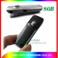 Wholesale New GB USB Voice Activated Digital Voice Recorder Dictaphone Telephone Recording MP3 Player Free Shippin
