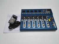 audio mixer equipment - F7 DJ Mixer Y M H Channels Audio Mixer With USB Input Sound Console DJ Equipment V Phantom Power Supply