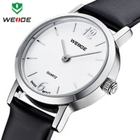 atm movement - Hot sale WEIDE fashion leisure watches women ATM leather strap watches analog ms Japan quartz movement wrist watch