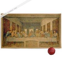art last supper - Last supper Da Vinci vintage style paper art crafts wallpaper for wall decor painting cm