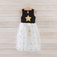 Girl ankle belts - new Babys Kids clothes spring summer sleeveless cotton lace flowers bow belt girls princess tutu dress YY