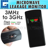 Wholesale E04 Microwave Oven Mobile Phone Leakage Monitor MHz to GHz Frequency Range