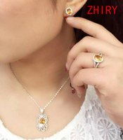 Cheap Silver Jewelry set Best shipping silver
