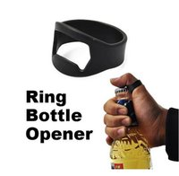 Wholesale Portable Finger Ring Bottle Opener Stainless Steel Handy Bar Tool Waiter Server Beer Magic Creative Gifts Hot Sale