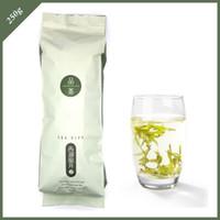 al por mayor regalo chino del té verde-Verde 250g té de Longjing regalo té Alimentación 2015 nuevo té chino agricultores Tea Orgánica marketing directo ENVÍO GRATIS