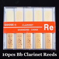 Wholesale Bb Clarinet Reeds Quality Clarinete Reed Strength Wind Musical Instrument Accessories