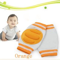 Wholesale 100 Cotton Baby knee protector leging Baby knee pads baby elbow pad baby knee Support baby pad mat guard baby safety