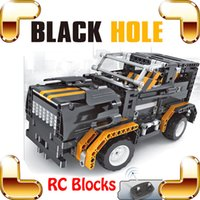 big car crashes - New Idea Gift Black Hole CH RC Big Blocks Truck Car Model Electric Vehicle Build DIY Toys Race Cars Large Road Crash Game