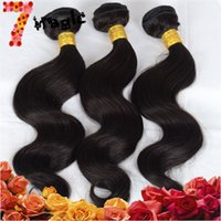 human braiding hair - 6A Human Braiding Hair Body Wave Cuticle virgin Brazilian Human hair Extension with Bundles