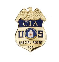 Wholesale US CIA SPECIAL AGENT CENTRAL INTELLIGENCE AGENCY METAL BADGE