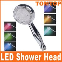 Wholesale Automatic Control Sprinkler Color Changing LED Shower Head