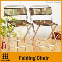 Wholesale High Quality Portable Folding Outdoor Fishing Camping Chair Aluminum Oxford Canvas Cloth Chair with Backrest