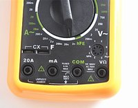 Wholesale 5pcs DT9205A AC DC Digital LCD Display Electrical Handheld Tester Digital Multimeter digital professional Multimetro Meter Ammeter