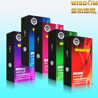 Wholesale Genuine ultra thin condom condoms fun sets the delay lasting lubricant particles help Bo sets of adult products