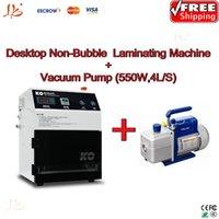 Wholesale Desktop vacuum oca lamination machine for iphone samsung No Need Remove Bubble Vaccum pump