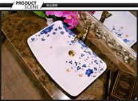 Wholesale Modern sanitary ware platform basin sink to wash its artistic basin sinks National color varied