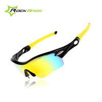 Wholesale MTB Sunglasses Goggles Cycling Glasses Sports Glasses Polarized Sunglasses Sun Glasses Eyewear With Lenses Colors