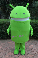 Wholesale The most popular Christmas Halloween Android cartoon costumes for Halloween party supplies adult size mascot