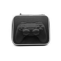 Wholesale New Muliti function Protective Carry Hard Bag Airform Game Pouch Case Shell For Sony PS4 Controller Game Accessories Black Color
