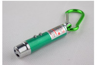 Cheap Top quality 3 in 1 Laser Pointer Beam LED Flashlight UV Torch Infrared Keychain 200pcs