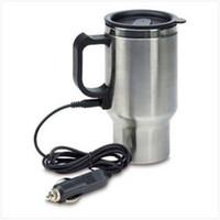 al por mayor taza jarra-12V coche calentado caliente acero inoxidable de viaje taza eléctrica taza de jarro taza de juguete