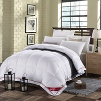 Wholesale Soft Warm Pink White Twin Queen King Size Natural DUCK DOWN COMFORTER FP Quilt For Hypo Allergenic Bedroom Four Seasons