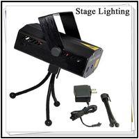 Wholesale Mini Laser Stage Light mW Mini Green Red Laser DJ Party LED Laser Stage Lighting Disco Dance Floor Lights