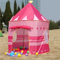 baby play - Ultralarge Children Beach Tent Baby Toy Play Game House Kids Princess Prince Castle Indoor Outdoor Toys Tents Christmas Gifts