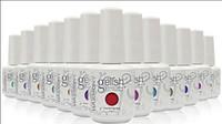 Wholesale 60pcs High quality Brand Harmony gelish Nail Polish UV LEDgel polish colors ml