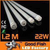 Wholesale Epistar Led Tube T8 mm W FT Integrated Led Tube T8 W LED TL Fluorescent Lamp G13 FA8 R17D Tubo T8 Led Tube mm W