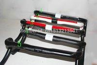 Wholesale Top famous brands full carbon fiber road bike handlebar carbon fiber carbon handlebar bend the carbon fiber bicycle handlebar