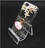 Wholesale HOT lowest quality acrylic purse holder Chin camera phone digital products display cm piece