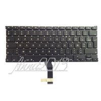 Wholesale New Original For Macbook Air quot A1369 A1466 Fr French Clavier keyboard AZERTY