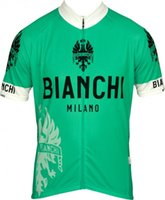 Cheap Bianchi Cycling Jerseys Breathable Quick Dry Cycling T-shirt Short Sleeves Cheap Winter Cycling Top in High Quality